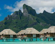 Bora Bora.  I want to be here.