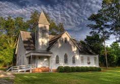 Carnegie, Georgia Nov 2008 carnegi baptist, churches, baptist church, countri church