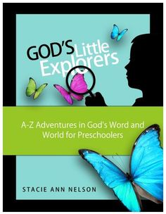God's Little Explorers Preschool Curriculum Flash Sale:: 9/30/13 Only - $4 Off! #homeschool #preschool #ece