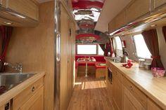 Retro Airstream  Kitchen