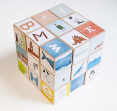 Animal Alphabet blocks