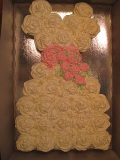 Beautiful pull apart cake!