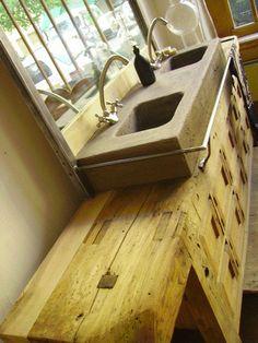 workbench for bathroom