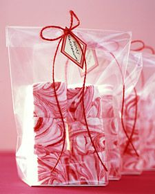 Candy-Cane Marshmallows for hot cocoa or straight out of the bag.