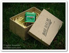 """Our Little Acre: """"Bag Balm: It's Udderly Wonderful!"""""""