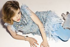 14 year old Chloe Grace Moretz loved Chanel and Rodarte