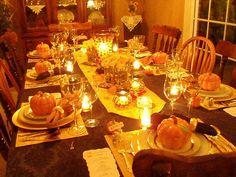 Would love to do this for my Thanksgiving table this year!
