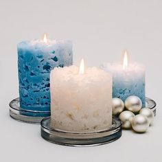 Rating 4:  Ice Candles.  Ice + Hot Wax.  I haven't done it but my son made them in school and they are really cool-looking. (And he was excited about it too - no small feat for a wordly 11-year-old).  ;)