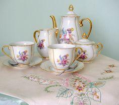 tea delight, tea set, teachocolatecoffe set, tea time, tea cup