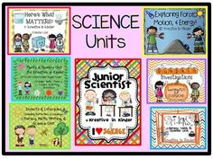 Mega Science Bundle!  This set contains seven individual products, bundled into one set valued at $45.50. Includes:  Junior Scientist; Insects and Lifecycles; Plants and Flowers Unit; Exploring Force, Motion, and Energy; Spider Unit; Here's What Matters; and The Great Pumpkin Investigation.  $