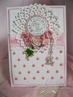 baby card by Christina Griffiths