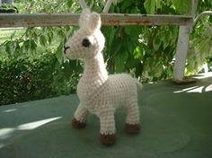 Crochet Amigurumi Llama : Crochet/ Stuffed Animals/Creatures 2 on Pinterest ...
