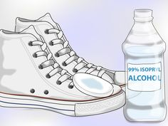 How to Clean White Converse -- via wikiHow.com | I figured I would need this eventually. Since Christmas is coming up.