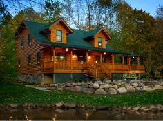 Hudson modified  Log Cabins