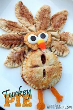 Worth Pinning: Turkey Pie Idea!