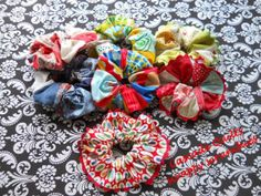 Scrappy Scrunchies - Moda Bake Shop