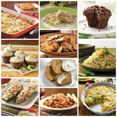 Top 10 Zucchini Recipes from Taste of Home