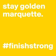 Don't let stress dim your shine. #FinishStrong Marquette! http://youaremarquette.tumblr.com/post/69594029114/finishstrong-marquette