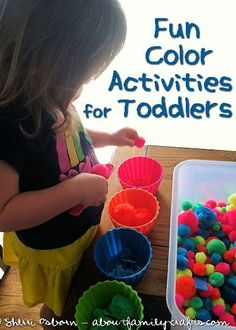 Color Sorting and Matching Activities for Toddlers