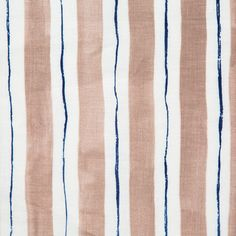 Painted Stripe Coffee & Blue | Rebecca Atwood Designs