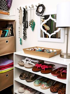 Put function front and center in an easy to replicate closet space: http://www.bhg.com/rooms/bedroom/master-bedroom/master-bedroom-storage/?socsrc=bhgpin082214functionfrontandcenter&page=13