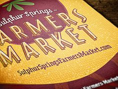 Dribbble - Local Farmers Market Promo by Nicholas Huff