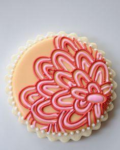 So pretty! #cookie