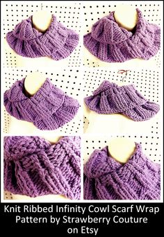 Knitting Patterns For Unusual Scarves : ( DIY Network ) on Pinterest Home improvement, Crochet Hat Patterns and Dog...