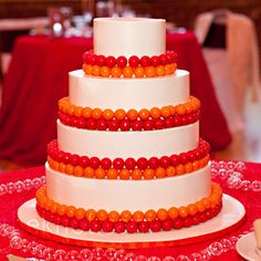 Gumball Wedding Cake