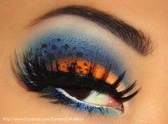 American Kestrel By Yumemi S. americankestrel, nail, beauti eye, eye makeup, american kestrel, sugarpil eyeshadow, yumemi, hair, beauti blue