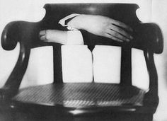 Man Ray: The Hands of Marcel Duchamp, 1920