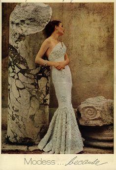 Modess ad 1950s