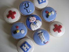 Congrats on getting into Medical school! via Bath Baby Cakes