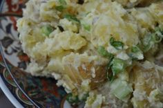 creamy potato salad...4 weight watchers points