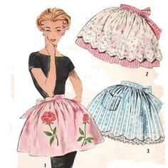 sweet vintage aprons by blanche