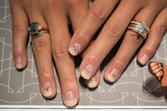 Nail art for funky brides!