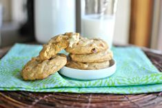 White Chocolate Chunk and Roasted Macadamia Nut Cookies | www.SimplyScratch...