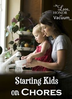 Chores for Toddlers: Starting Kids on Chores