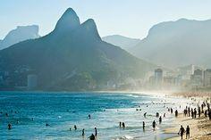 #Ipanema #Beach, Rio de Janeiro, #Brazil #Rio_Hotel ~ http://VIPsAccess.com/luxury-hotels-rio-de-janeiro-brazil.html