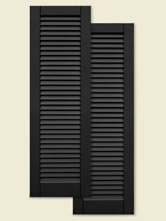 Composite Shutters: These shutters were used on the New Orleans TOH TV project because they look just like painted wood. But they're actually made of fiberglass, a tough, low-maintenance material that never needs painting. And if you need to protect your windows from hurricanes, the reinforced versions meet Florida's building code.  | Atlantic Premium Shutters Architectural Collection @thetapcogroup