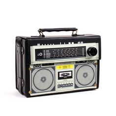 Stereo Box Bag Black, $25, now featured on Fab.