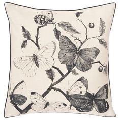 I pinned this Flutter Pillow from the Cottage Chic event at Joss and Main!