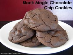 Black Magic Chocolate Chip Cookies substitute the flour for Personalized Protein Powder , Chocolate Healthy Meal or Chocolate Protein drink mix :)