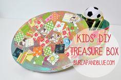 kids' mod podged treasure box {a tutorial}