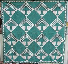 Tree of Life Quilt graphic, vintage quilts, blue, antique quilts, life quilt, quilt shop, antiqu quilt, tree of life, antiques