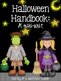 A mini unit about safe trick-or-treating