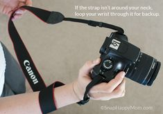 How To Not Drop Your Camera: using the strap