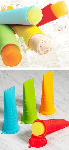 Push Popsicles Mold Set //