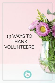 Perfect for volunteer appreciation week is this post with 19 easy ways to thank volunteers!  Also good for teacher appreciation and showing gratitude throughout the school year! #ptoanswers #pto #pta #schoolvolunteers #ptovolunteers #volunteerappreciationweek #teacherappreciation #teacherappreciationweek #volunteerappreciation #parentinvolvement #ptavolunteers