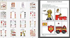 I have added fire safety dry eraser sheets to 1 - 2 - 3 Learn Curriculum - under the Fire Safety link. :)  Please click on picture tolearn how to become a member of 1 - 2 - 3 Learn Curriculum or to access free downloads. Thank you Jean - 1 - 2 - 3 Learn Curriculum
